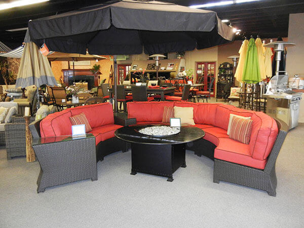 Patio Furniture, BBQs, Fire Pits Showroom Orange CA