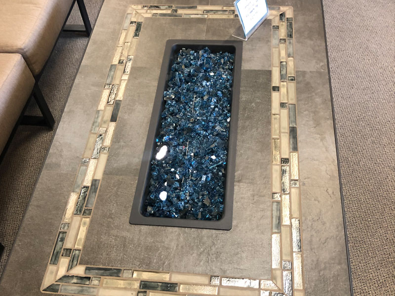 Linear Fire Pit Table Near Laguna Woods