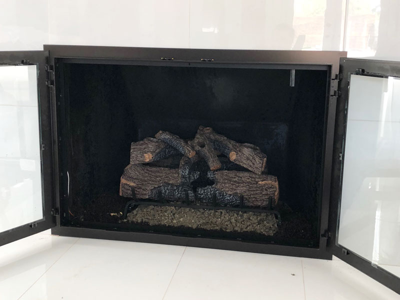 Fireplace Glass Doors And Fire Screens Orange County Ca