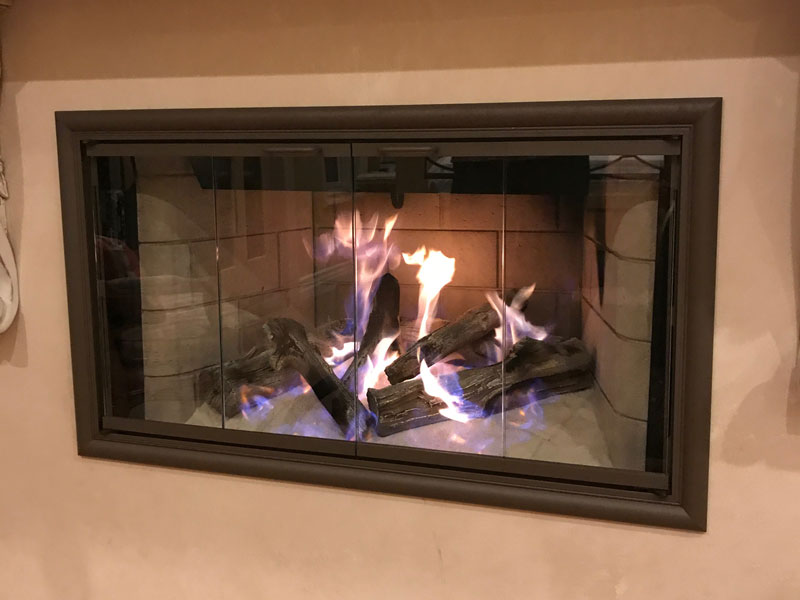 Orange County Fireplace Glass Doors & Fire Screens