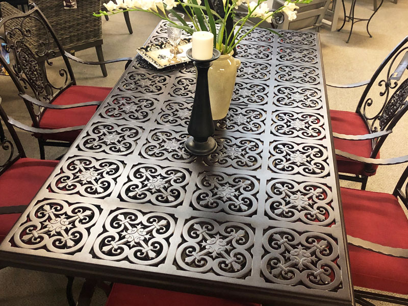 Lake Forest Wrought Iron Patio Furniture